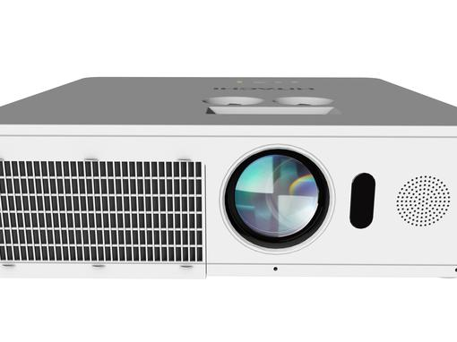 Hitachi LP-WU6500: laser projection with up to 5,000 Lumen