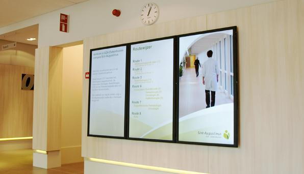 narrowcasting, digital signage, wayfinding